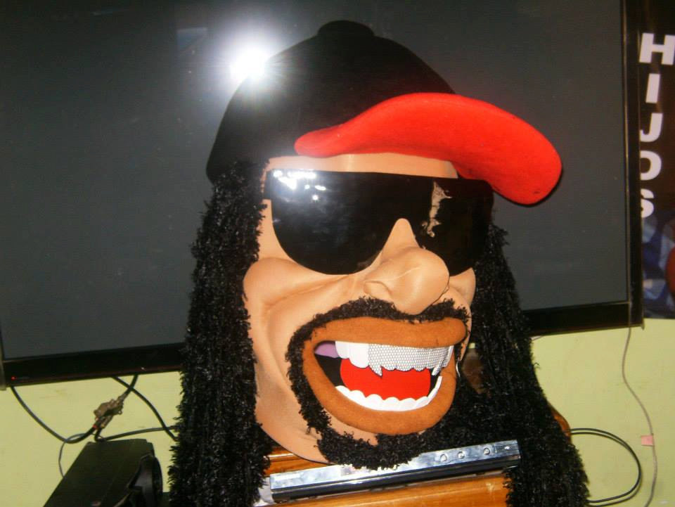 Rapper Mascot Costume Adult Costume