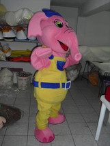 Pink Elephant Mascot Costume Adult Costume For Sale - $325.00