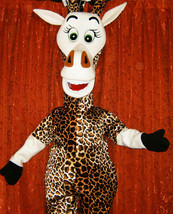 Giraffe Mascot Costume Adult Costume For Sale - $325.00