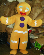 GingerbreadMan Mascot Costume Adult Costume For Sale - $299.00