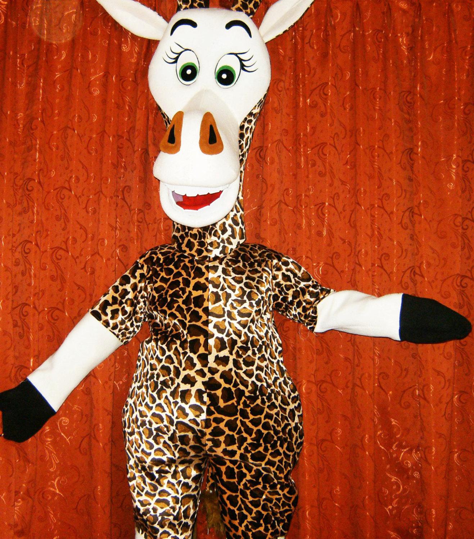 Giraffe Mascot Costume Adult Costume For Sale