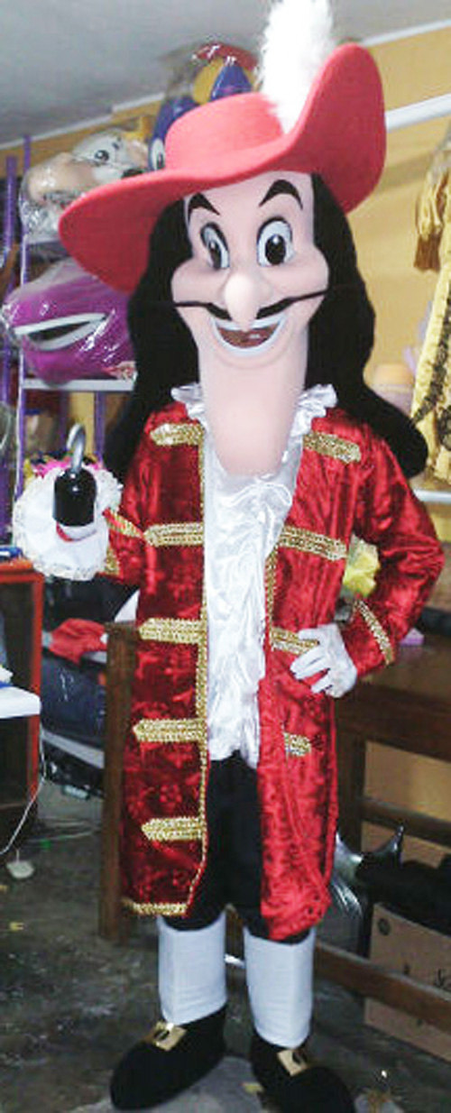 Captain Hook Mascot Costume Adult Costume For Sale