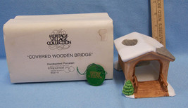 Department 56 Heritage Village Covered Wooden Bridge Original Box  # 6531-5 - $9.89