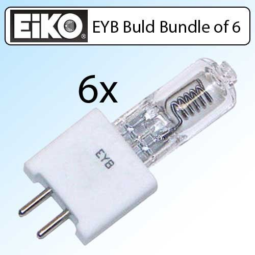 WIKO EYB 82V 360W T3-1/2 G5.3 Base Overhead Projector Bulb 6 Pack