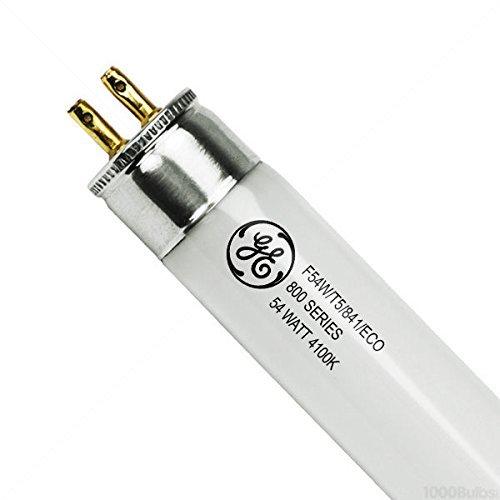 (40/Case) - F54W/T5/841/ECO - 54 Watt - T5 High Output - 4100K - 800 Series P...