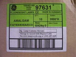 10pc GE 97631 - F32TBX/835/A/ECO 32-Watt 2400-Lumen General Purpose Ecolux T4... - $41.88