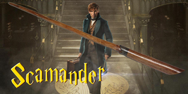 Newt Scamander magic Wand Fantastic Beasts - $14.99