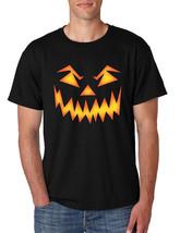 Men's T Shirt Angry Pumpkin Face Cool Halloween Costume Tee - $10.94+