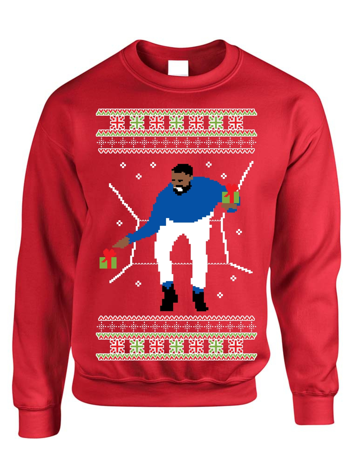 Adult Crewneck 1-800 Hotline Bling Ugly Christmas Sweater