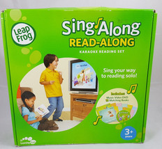 Leap Frog Sing Along Read Along Karaoke Reading Set 1 DVD & 12 Books Age... - $9.74