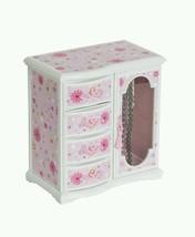 Girl's Glitter Upright Musical Ballerina Jewelry Box Organizer Holder Mi... - €42,99 EUR