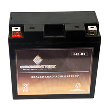 YT14B-BS Motorcycle Battery for YAMAHA XV1700P Road Star Warrior 1700CC 02-'09 - $42.75