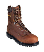 "Carhartt 3908 Men's Steel Toe Water Proof  8"" Work Boots - Size 8-D - $186.07"