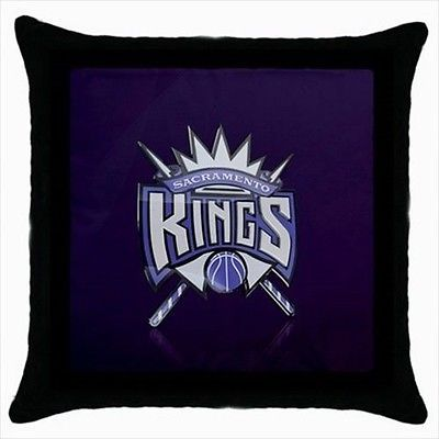 Sacramento Kings Throw Pillow Case - NBA Basketball