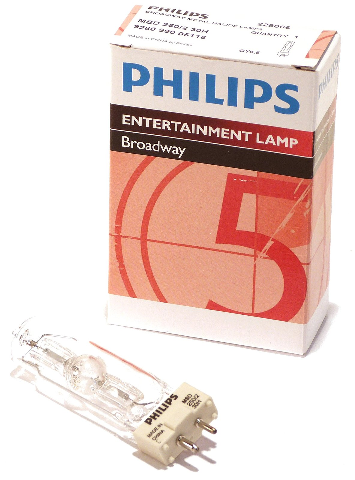 Philips Broadway MSD 250/2 30H Philips 228066