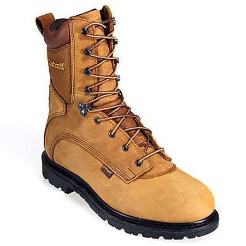 "Carhartt 3907 Men's Water Proof  8"" Work Boots - Size 7-D"