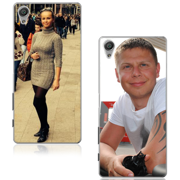 Sony Xperia X - Personalised hard plastic case