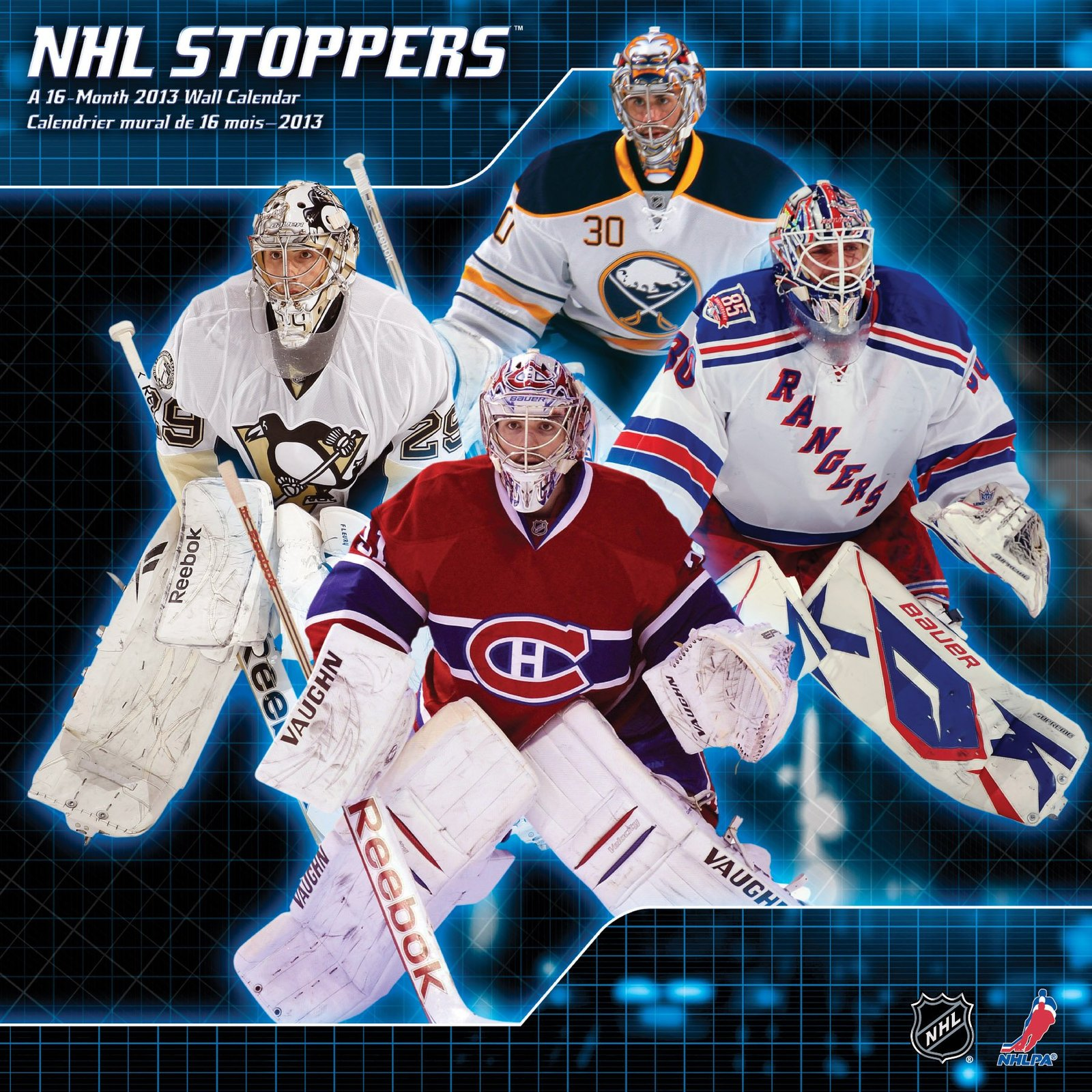 NHL Stoppers 2013 Wall Calendar [Sep 01, 2012] DateWorks