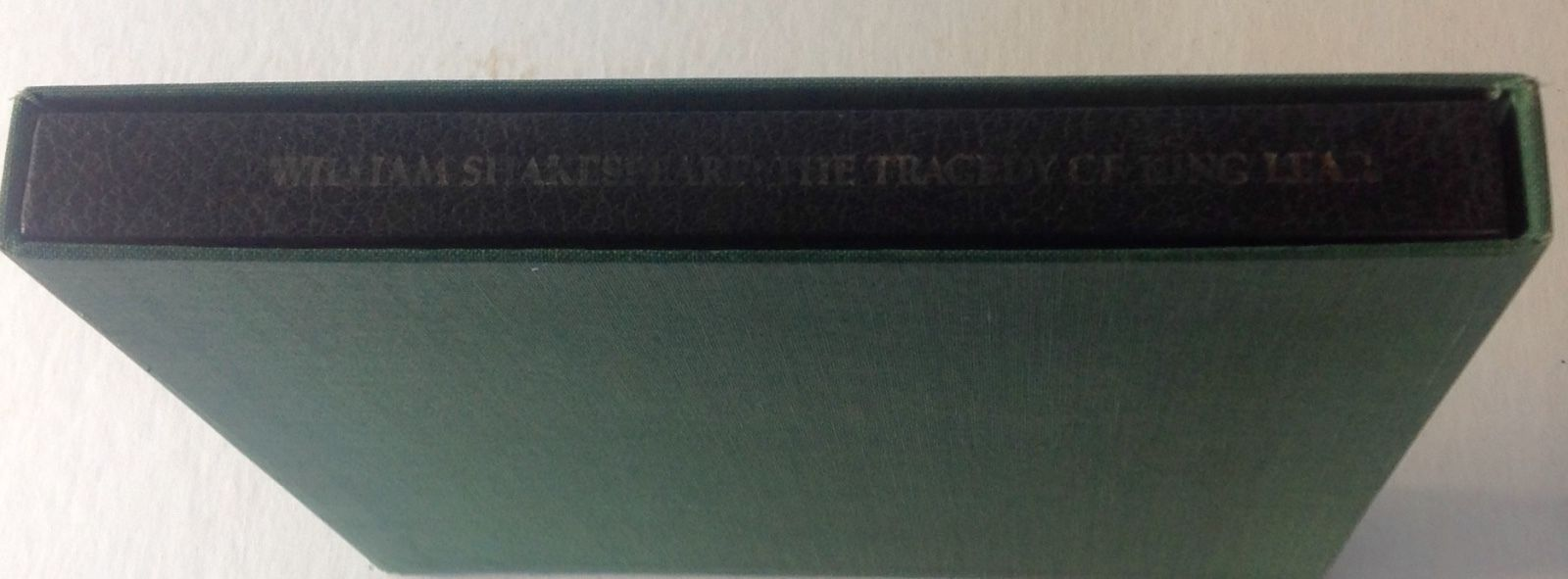 William Shakespeare The Tragedy of King Lear 1968 Graphic Arts Pub. HC Slipcase
