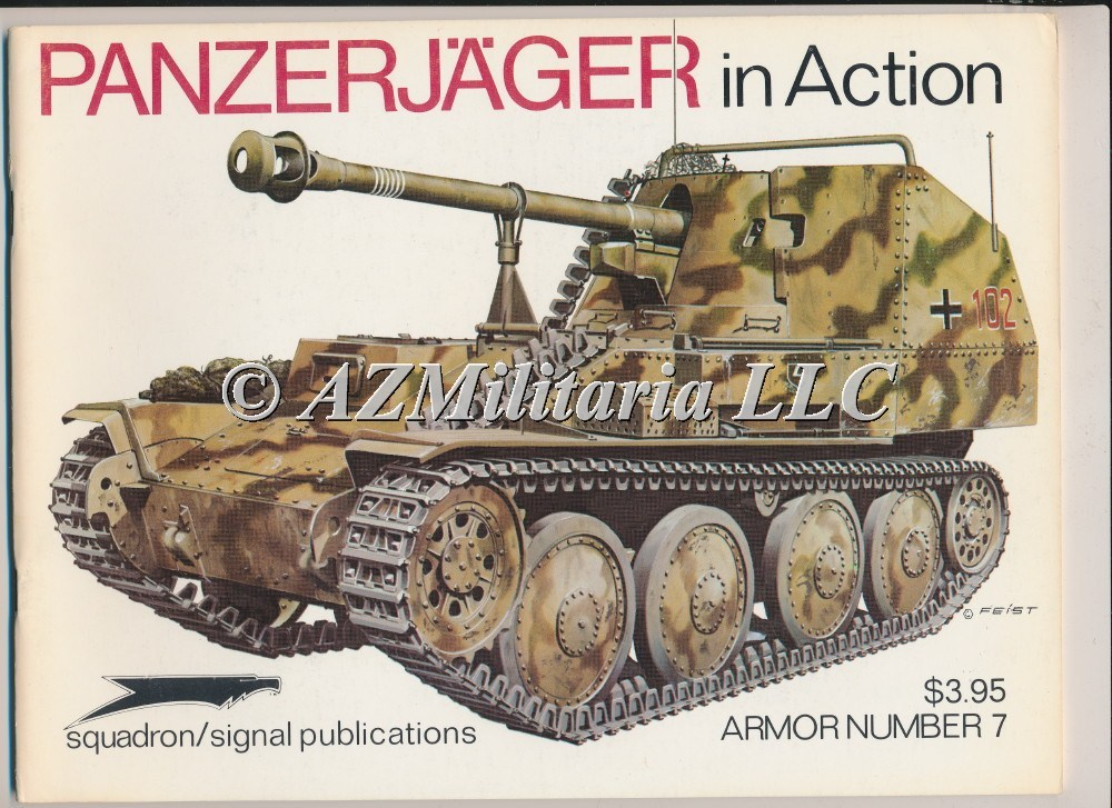 Panzerjager In Action Armor No. 7