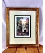 Framed McCaffery Print of The Walled Garden art... - $67.71