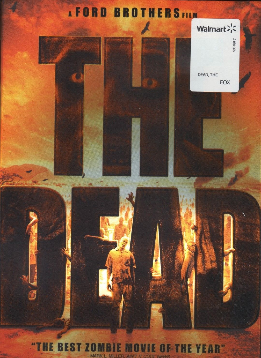 The Dead (DVD, 2012) free shipping