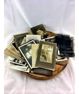 Large Collection Antique Photography photos lot... - $58.04