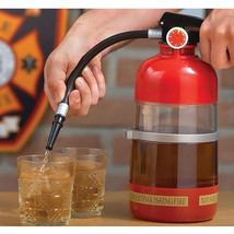 Fire Extinguisher Cocktail Shaker Drink Storage and Dispenser Party Drin... - €19,23 EUR