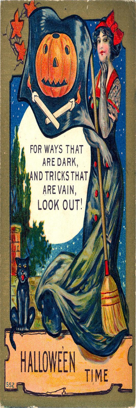 Halloween # 4 Bookmark