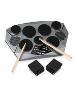 Pyle  Electronic Drum Set Pad With Built in Spe... - $198.99
