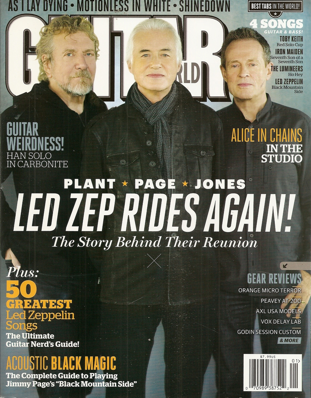 GUITAR WORLD JANUARY 2013