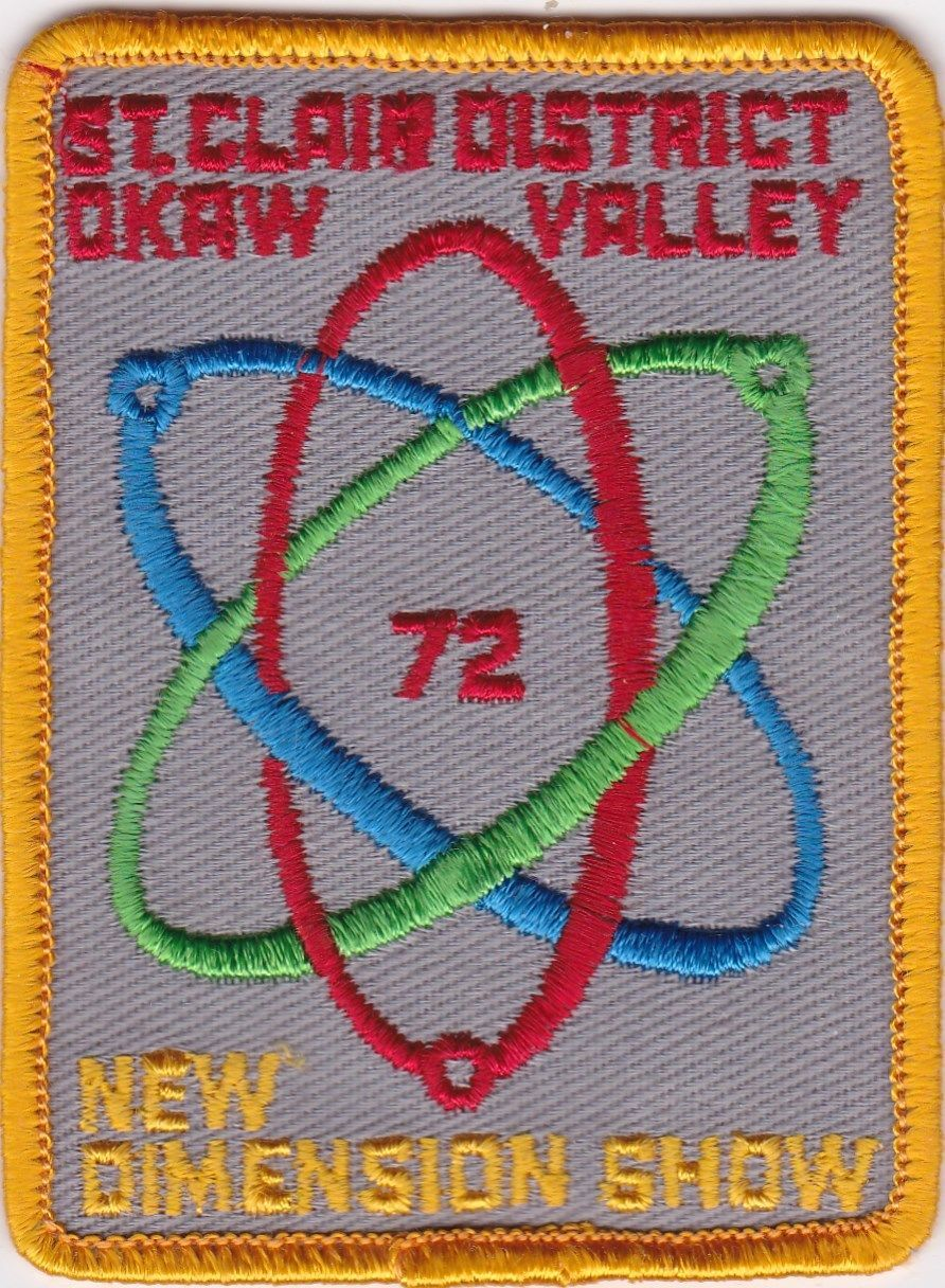 Okaw Valley Council - Patch 1972 New Dimension Show