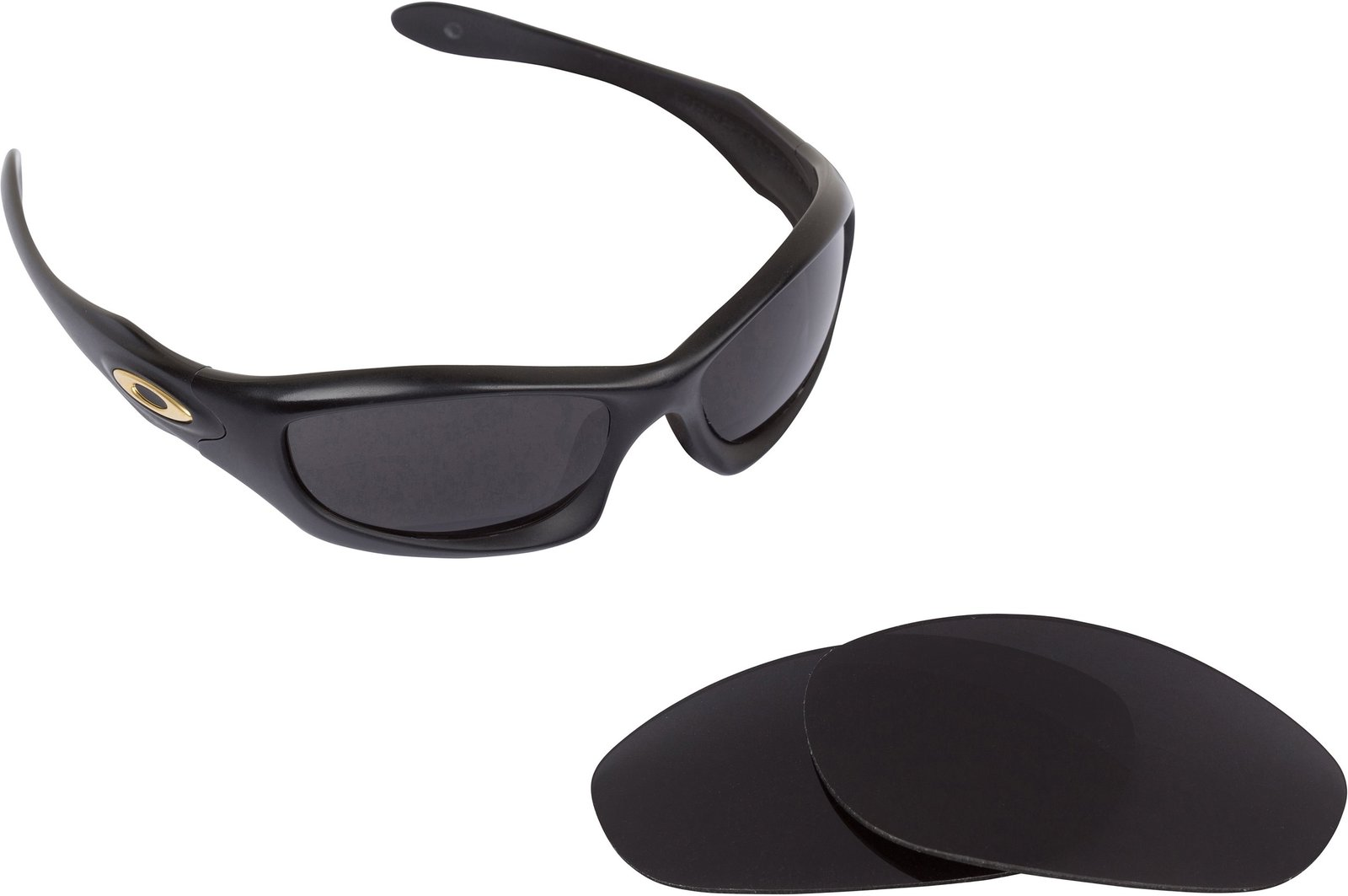 New SEEK OPTICS Replacement Lenses Oakley MONSTER DOG - Black