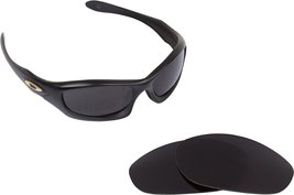 New SEEK OPTICS Replacement Lenses Oakley MONSTER DOG - Black image 1