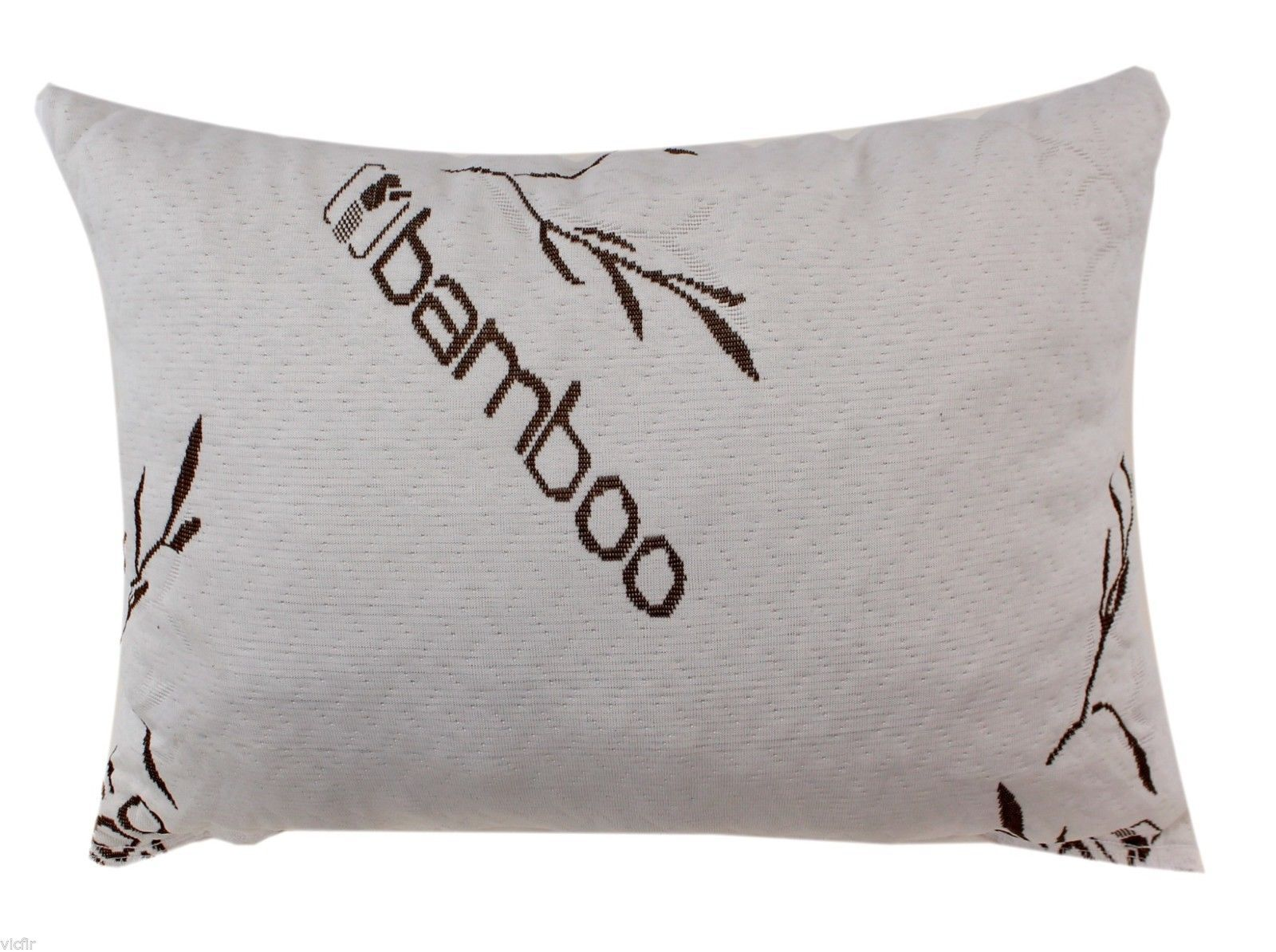 bamboo covered memory foam pillow