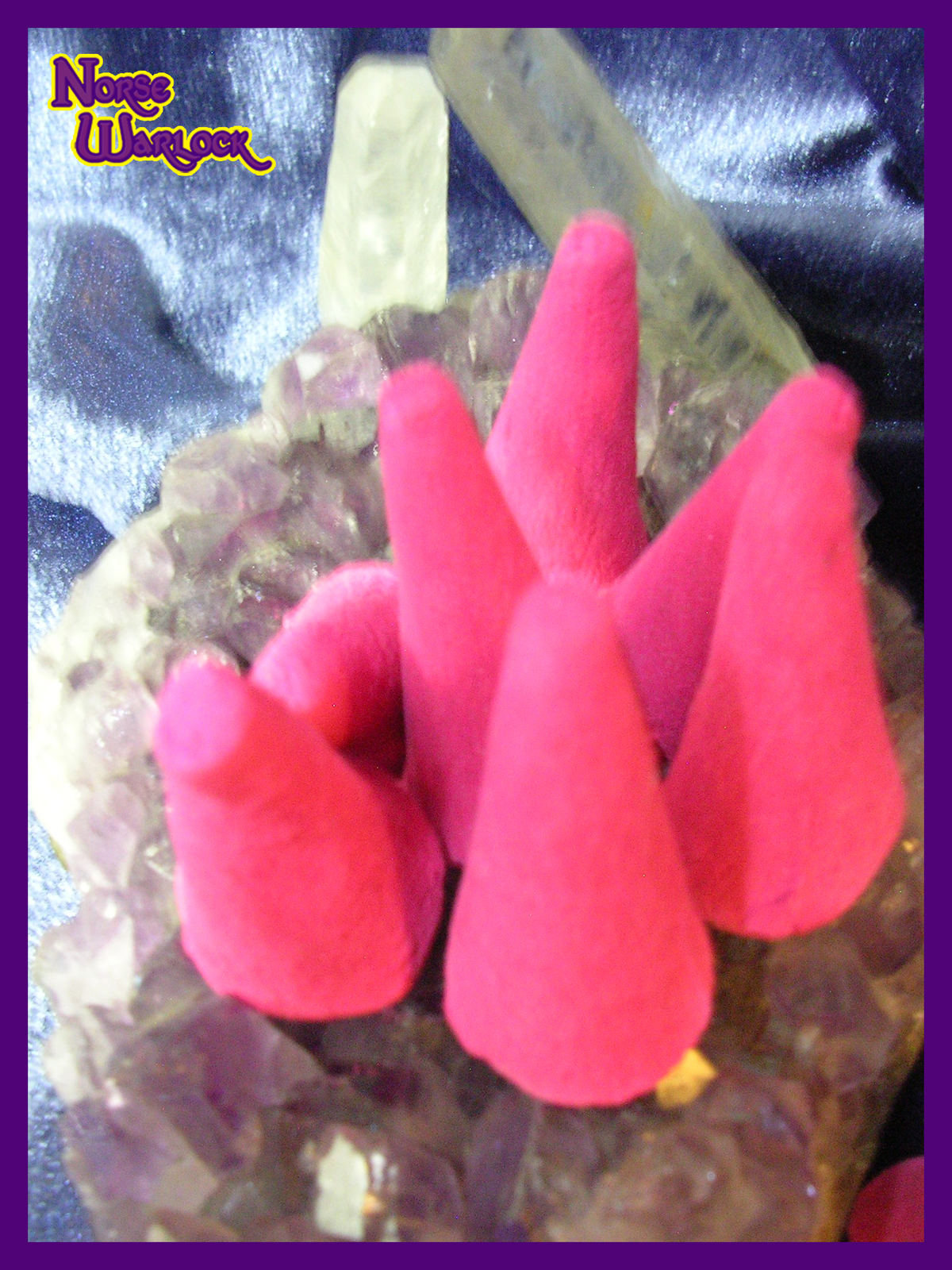 Fairy Calling Spelled Magick Incense Summons Spirits of Light! offerings haunted