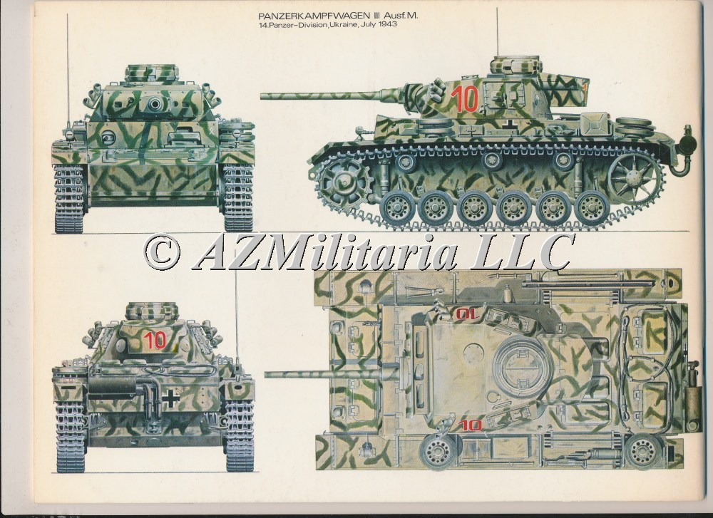 Panzer III In Action  Armor No. 1