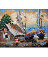 16x20 inch Oil Painting Original Hand Painted M... - $90.00