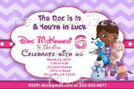 Doc McStuffins birthday invitations - $8.99