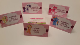 My little pony food tents | My little pony food labels | food tents - $3.00