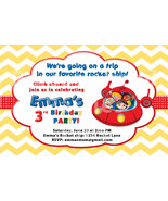 Little Einsteins Birthday Party Invitation Personalized and emailed to you - $8.99