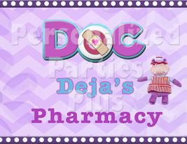Doc McStuffins pharmacy sign: Downloadable & Printable - $4.00