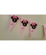 Minnie Mouse baby shower banner that says Its a girl: printed and shippe... - $10.00