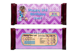 Doc McStuffins Candy Bar Wrappers: Downloadable & Printable - $4.00