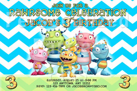 Henry Hugglemonster birthday invitations - $8.99