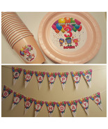 Team Umizoomi plates, cups and banner - $55.95