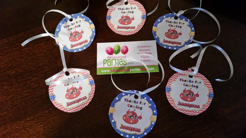 Little Einsteins birthday party pack: banner, plates, cups, centerpieces, thank