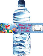 Little Mermaid - Princess Ariel water bottle labels Personalized and ema... - $4.00