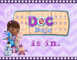 Doc McStuffins the doc is in birthday Sign: Downloadable & Printable - $4.00
