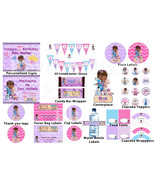 Doc McStuffins birthday party pack: banner, cupcake toppers, water bottl... - $24.99